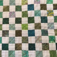 Garden Walk Checkered block