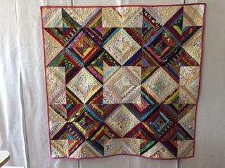 4 Star String Quilt