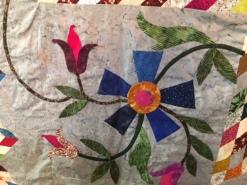 Edyta Sitar Lymone Star quilt applique